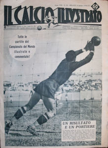 WM 1938 Il Calcio Illustrato Nr.23 vom 08. Juni 1938