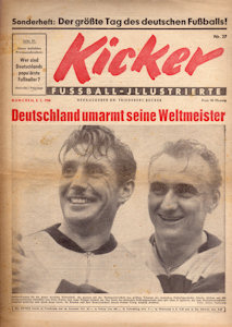 WM 1954 Kicker Sonderheft Original