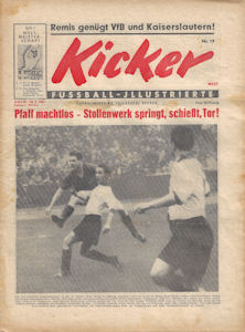 WM 1954 World Cup Kicker Nummer19 vom 10.05.1954 WM-Heft No1