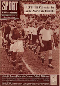 WM 1954 World Cup Sport-Illustrierte No6