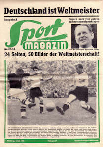 WM 1954 Sport-Magazin Nr-27-54_05-07-1954