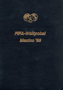 WM 1986 World Cup FIFA official Report Luxury Edition German