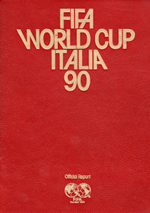 WM 1990 World Cup FIFA official Report Luxury Edition